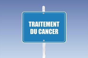 panneau traitement du cancer