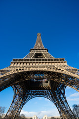 Eiffel tower, Paris, France..