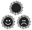 virus picto vecteurs - 76965135