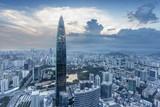 Fototapety skyline,cityscape of modern city,shenzhen
