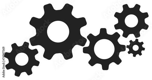 engrenages picto vecteurs 2 - 76967569