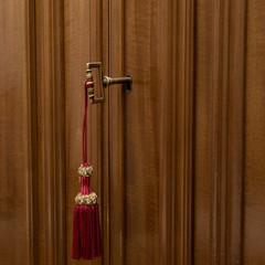 Old wardrobe key