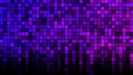 Blinking Tiles Background - Loop Rainbow