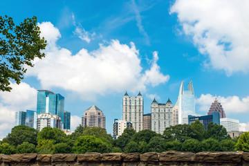 Skyline of midtown Atlanta, Georgia