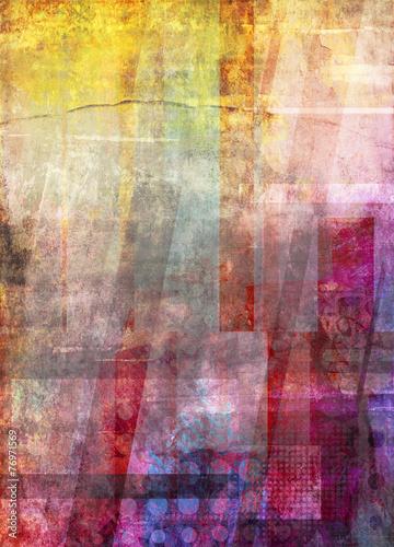 malerei graphik texturen formen - 76971569