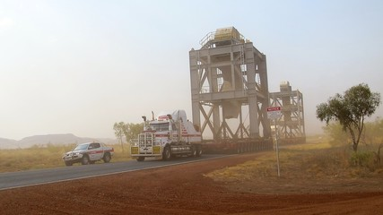 Pilbara, West Australia - roadtrain