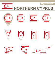 Northern Cyprus Flag Collection