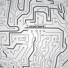 Circuit board background eps 10