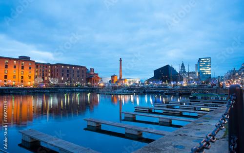 Fotobehang Vestingwerk Liverpool, Albert Dock, England, UK