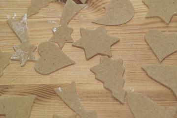 Preparation delicious cookie.
