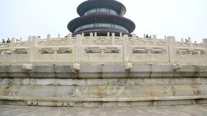Tourists Temple of Heaven UNESCO World Heritage Site Beijing