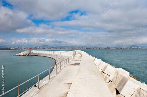 Deurstickers Poort Puerto de Laredo 11
