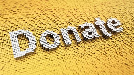 Pixelated Donate