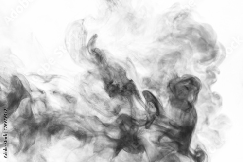 Foto Spatwand Rook Abstract smoke moves
