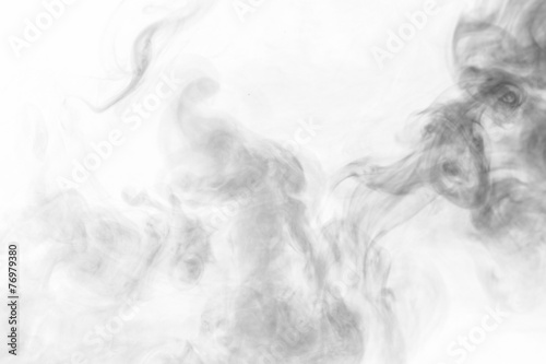 In de dag Rook Abstract smoke moves