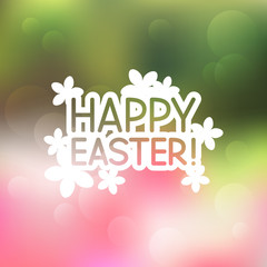 Easter greeting card for Your design