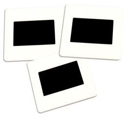 diapositives, fond noir pour photos