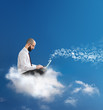 freedom to communicate and work with cloud technology