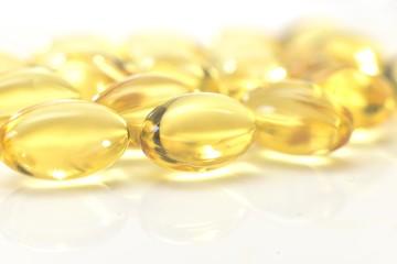 transparent pills