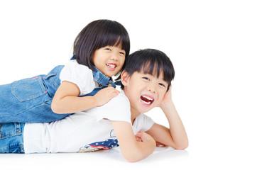 Lovely asian kids