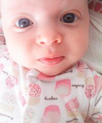 Beautiful baby blue eyes