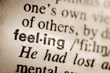 word feeling