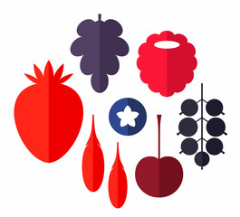 Berry. Set