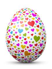 Osterei, Ei, Ostern, Herz, Heart, textur, Icon,Easter Egg, Heart