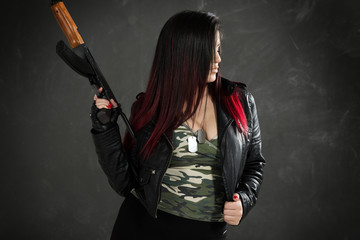 Armed And  Dangerous Girl