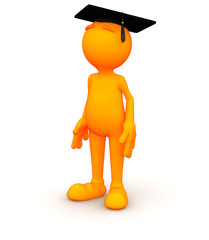 3d Guy: Waiting to Graduate