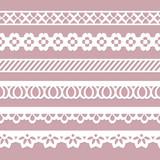 set of seamless borders - 76988598