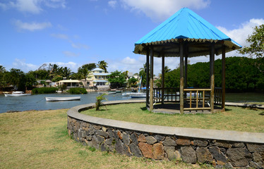 Mauritius, picturesque village of Poudre d or