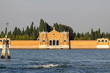 Venetian Cemetery island