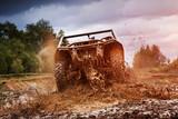 Fotoroleta Hard ride