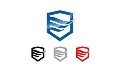 Shield Wings Logo