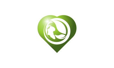 Leaf Save the World logo