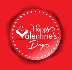 Vector valentine day Text banner Background