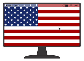 American Computer Flag