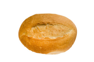 isolated baguette