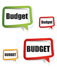 bulle  : budget