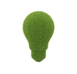 green grass lamp