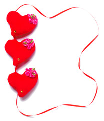 Valentines Day - red hearts