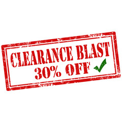 Clearance Blast-stamp
