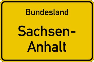 Bundesland Sachsen-Anhalt