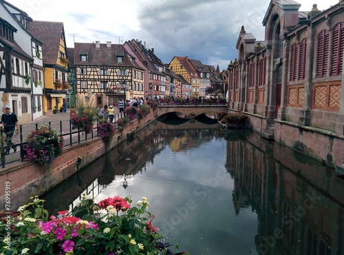 canvas print picture Kanal