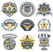 Military style patches vector collection - 76996707