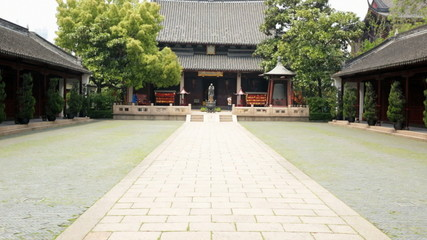 Shanghai Temple Confucius Philosopher Religion Huangpu District China