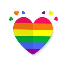 Valentines lgbt emblem