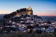 Leinwandbild Motiv Montefrio at sunset, Andalusia, Spain