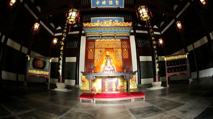 Alter Place Religion City God Temple Chenghuang Miao China Asia